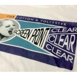 Screen Print Clear