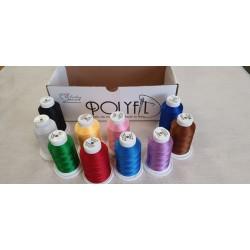 Kit 10 rocchetti colori assortiti