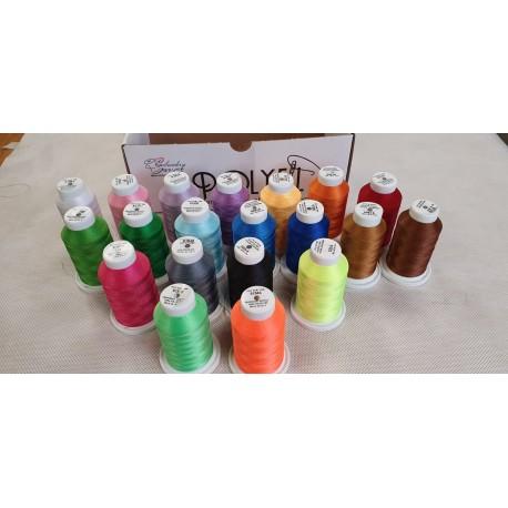 Kit 20 rocchetti colori assortiti