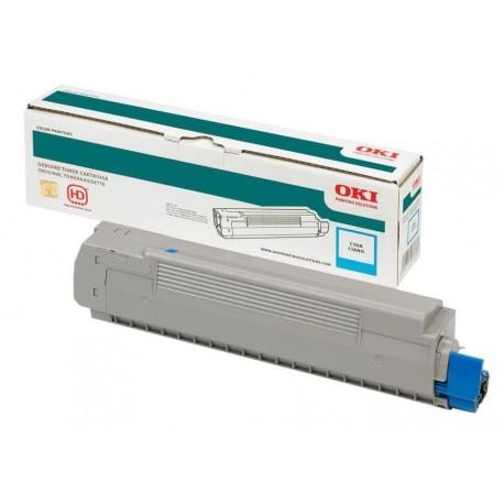 Toner OKI  Pro8432WT Ciano