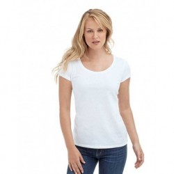 T-Shirt Tg. XS Donna Poliestere 100% effetto cotone