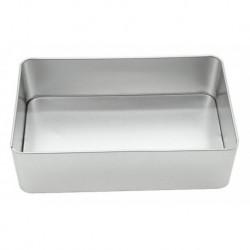 Scatola in Alluminio Forma Rettangolare 18x11 cm.