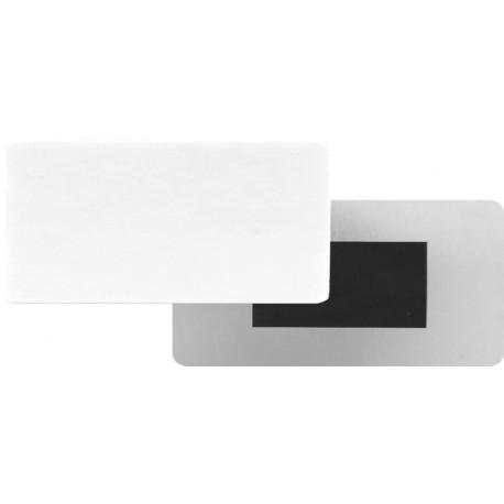 Magnete ALLUMINIO 5x10 cm. sp.0,5 mm.