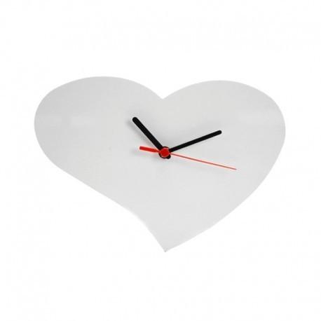 Orologio Cuore MDF 28X20 cm. da parete