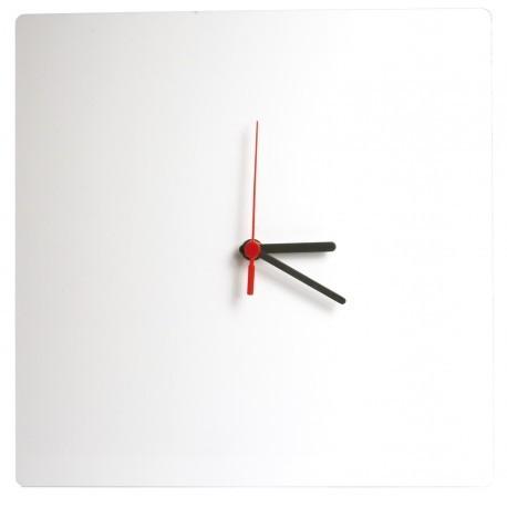 Orologio in Alluminio 30x30 cm.da Parete