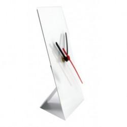 Orologio in Alluminio 15x20 cm. da Tavolo