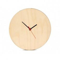 Orologio in Legno Tondo Ø 20 cm. da Parete
