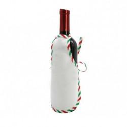 Mini Grembiule Bianco per Bottiglie 22x15 cm