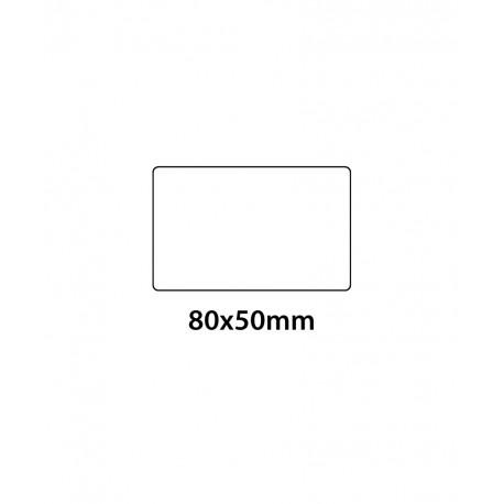 Etichetta in PVC Trasparente 80x50
