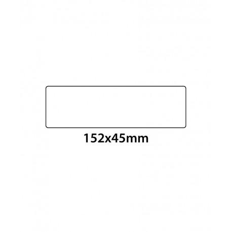 Etichette in PVC Trasparenti 152X45