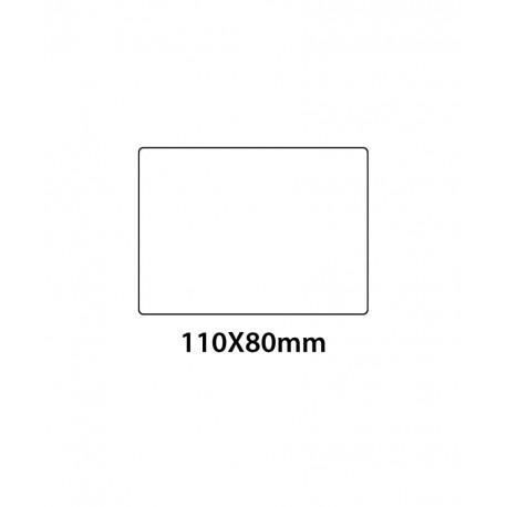 Etichetta in PVC Trasparente 110x80