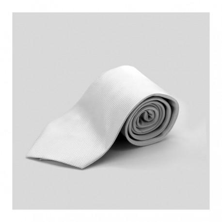 Cravatta Bianca Poliestere 100%