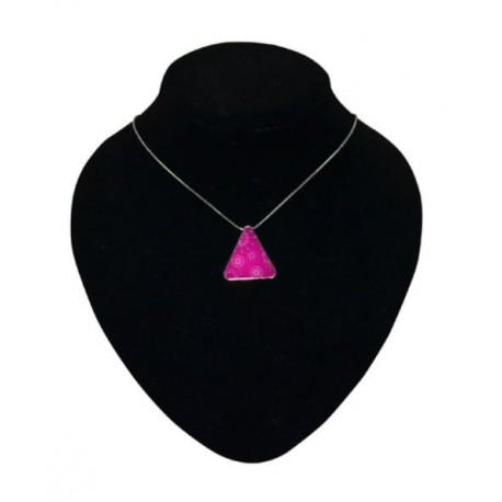 Collana Con Ciondolo a Forma di Triangolo