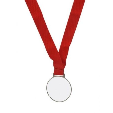 Medaglia Color Argento