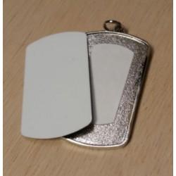 Medaglietta Militare Con Supporto in Metallo