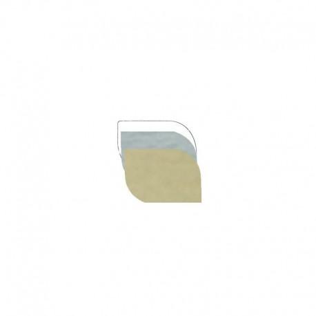 Etichetta Stondata - 35x25mm