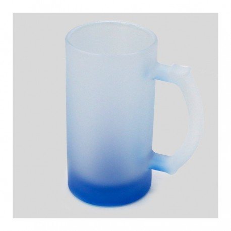 Boccale in Vetro Fumè Cocktail 16 oz - Blu