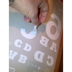 Fogli per Tranfer serigrafici in Poliestere trasparente bifacciale