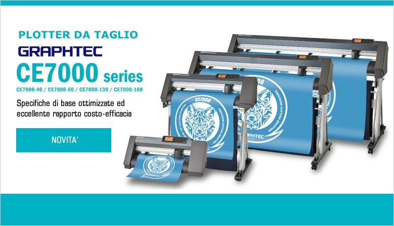 Nuovi Plotter da Taglio Graphtec CE7000 Series