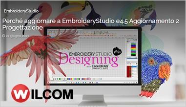 18 ragioni per aggiornare Embroidery Studio alla versione e4.5.2